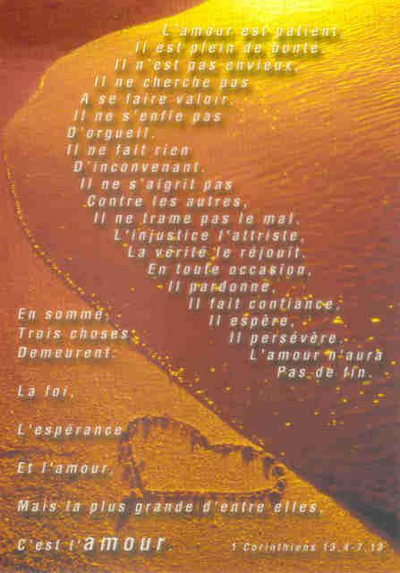 verset biblique - Verset Biblique Mariage